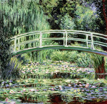 Weiße Seerosen von Claude Monet