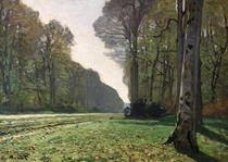 The Road to Bas-Breau, Fontainebleau (Le Pave de Chailly) by Claude Monet