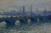 Waterloo-Brücke von Claude Monet
