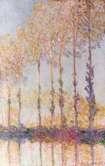 Poplars on the Banks of the Epte by Claude Monet