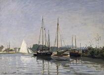 Ausflugsboote, Argenteuil von Claude Monet