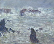 Storm, off the Coast of Belle-Ile by Claude Monet