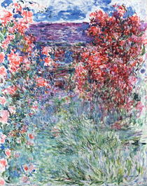 The House at Giverny under the Roses by Claude Monet