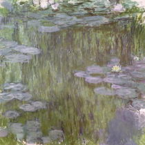 Nympheas 1918 von Claude Monet