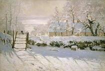 Die Elster von Claude Monet