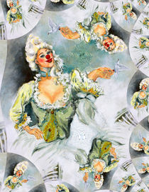 Clownesse Serafine von Barbara Tolnay