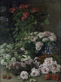 Spring Flowers by Claude Monet