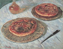Fruit Tarts by Claude Monet