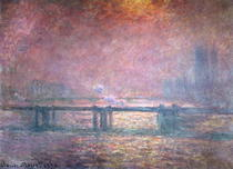 Die Themse bei Charing Cross von Claude Monet