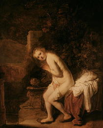 Susanna and the Elders by Rembrandt Harmenszoon van Rijn