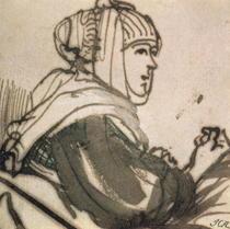 Portrait der Saskia von Rembrandt Harmenszoon van Rijn