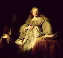 Artemisia, by Rembrandt Harmenszoon van Rijn