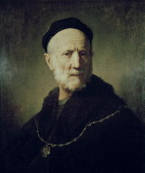 Portrait of Rembrandt`s Father  by Rembrandt Harmenszoon van Rijn