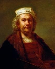Selbstbildnis von Rembrandt Harmenszoon van Rijn