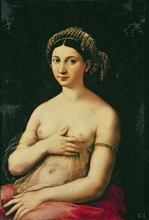 La Fornarina by Raffaello Sanzio of Urbino
