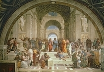 School of Athens by Raffaello Sanzio of Urbino