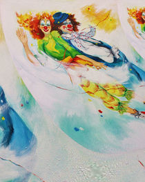 flying Clowns von Barbara Tolnay