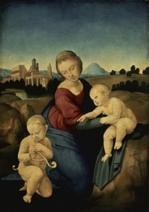 The Esterhazy Madonna  by Raffaello Sanzio of Urbino