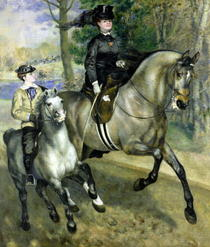 Horsewoman in the Bois de Boulogne by Pierre-Auguste Renoir