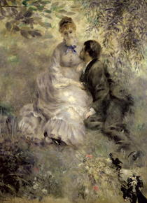 The Lovers by Pierre-Auguste Renoir