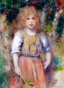 Gypsy Girl by Pierre-Auguste Renoir