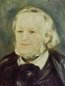 Portrait Richard Wagners von Pierre-Auguste Renoir