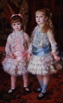 Die Demoiselles Cahen d`Anvers von Pierre-Auguste Renoir