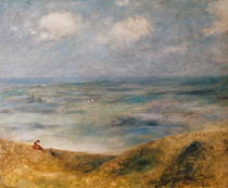 View of the Sea, Guernsey by Pierre-Auguste Renoir