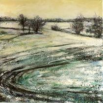 Durch verschneite Felder by Renée König