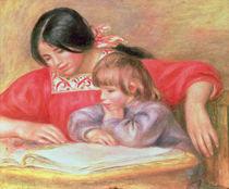 Leontine und Coco von Pierre-Auguste Renoir