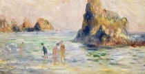 Moulin Huet Bay, Guernsey by Pierre-Auguste Renoir