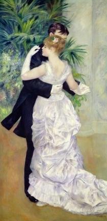 Tanz in der Stadt von Pierre-Auguste Renoir
