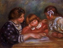 The Lesson by Pierre-Auguste Renoir
