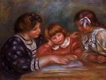 Der Unterricht von Pierre-Auguste Renoir