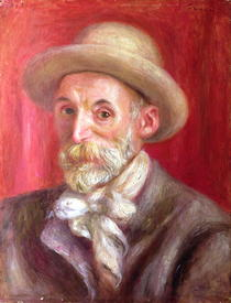 Self portrait by Pierre-Auguste Renoir