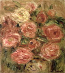 Flowers by Pierre-Auguste Renoir