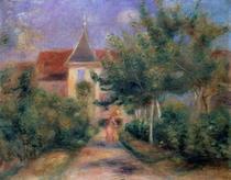 Renoirs Haus in Essoyes von Pierre-Auguste Renoir