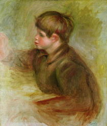 Portrait of Coco painting by Pierre-Auguste Renoir