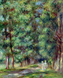 Path in a Wood by Pierre-Auguste Renoir