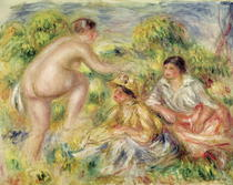 Young Girls in the Countryside by Pierre-Auguste Renoir