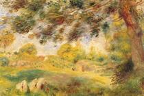Spring Landscape by Pierre-Auguste Renoir