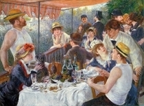 The Luncheon of the Boating Party von Pierre-Auguste Renoir