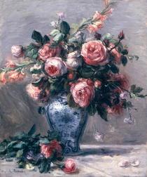 Vase mit Rosen von Pierre-Auguste Renoir