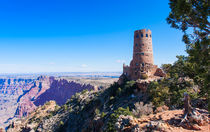 Desert View Watchtower Overlook by John Bailey
