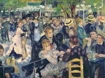 Ball at the Moulin de la Galette by Pierre-Auguste Renoir