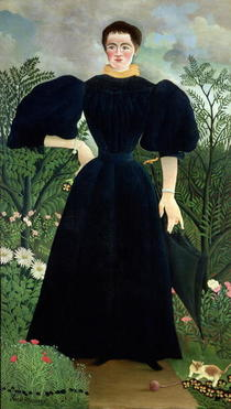 Portrait of a Woman by Henri J.F. Rousseau