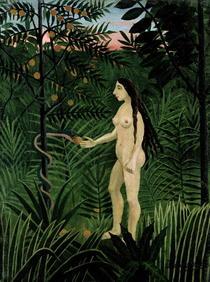 Eve by Henri J.F. Rousseau