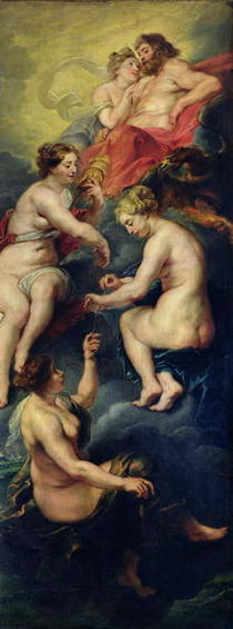The Medici Cycle: The Three Fates Foretelling the Future of Mari by Peter Paul Rubens