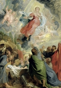 The Assumption of the Virgin Mary by Peter Paul Rubens