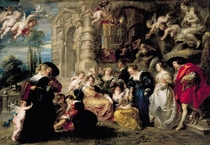 The Garden of Love by Peter Paul Rubens